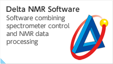 Delta NMR Software